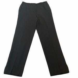 Giorgio Armani Men's Flat Front Wool Pants